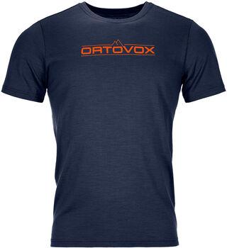 ORTOVOX 185 Merino 1ST Logo T-Shirt Herren blau