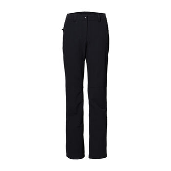 Jack Wolfskin Activate Winter Softshellhose Damen schwarz