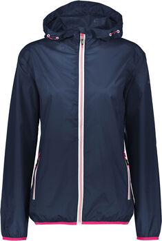 CMP Fix Hood Regenjacke mit Kapuze Damen blau