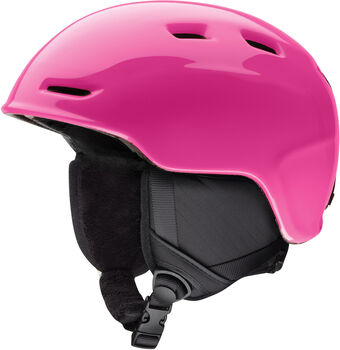 SMITH Zoom Skihelm pink