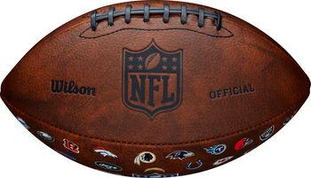 Wilson NFL Off Throwback 32 Team Logo Football braun