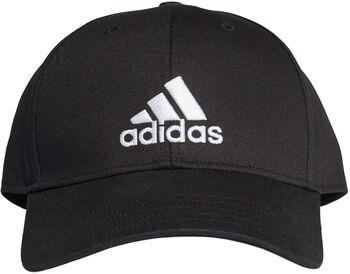 adidas Badge of Sport Baseball Kappe schwarz