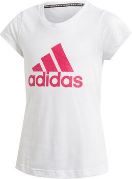 ADIDAS YG MH BOS TEEMd. T-Shirt Mädchen weiß