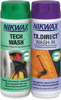 Nikwax Tech Wash + TX Direct Wash In weiß