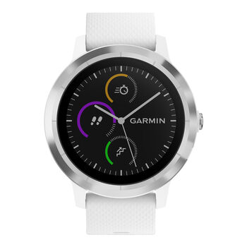 Garmin Vivoactive 3 GPS-Multisport Uhr weiß