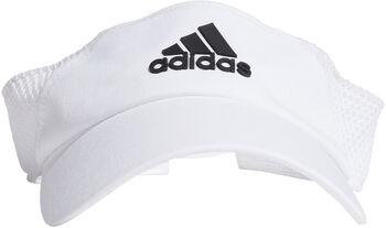 adidas Visor Kappe weiß