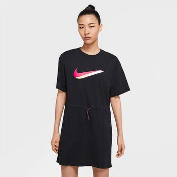 Nike  W NSW Icn Clsh SsDamen Kleid schwarz
