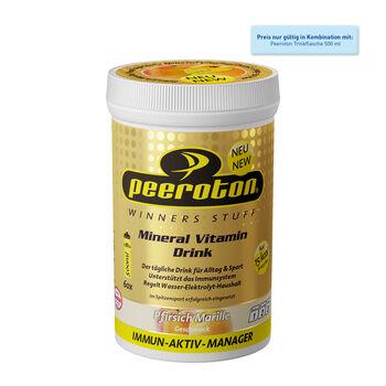 Peeroton Mineral Vitamin Drink Pfirisch/Marille 300g Getränkepulver orange