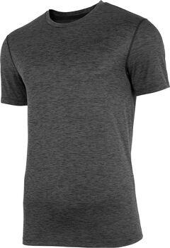 4F T-Shirt Herren schwarz