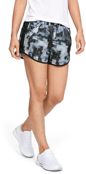 Under Armour FLY BY PRINTED Shorts Damen grau