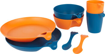 McKINLEY Eating Kochgeschirr Set blau