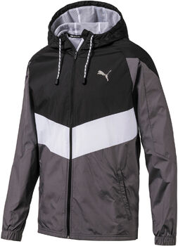 Puma Reactive Wn Trainingsjacke Herren schwarz