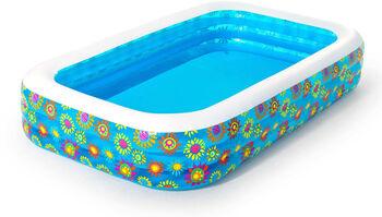 Bestway Happy Flora Family Pool transparent