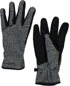 Spyder Bandit Strick Glove Skihandschuhe Herren schwarz