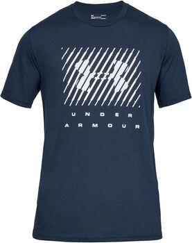 Under Armour Branded Big Logo T-Shirt Herren blau