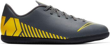 Nike Vaporx 12 Club GS IC Hallenschuhe Jungen grau