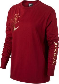 Nike Sportswear Langarmshirt Damen rot