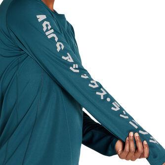 Katakana Langarmshirt