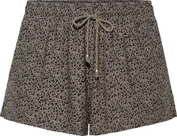 Beach Life Shorts Damen cremefarben