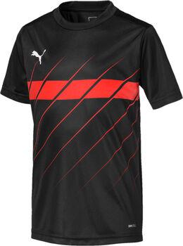 Puma ftblPLAY Graphic Fußballtrikot schwarz
