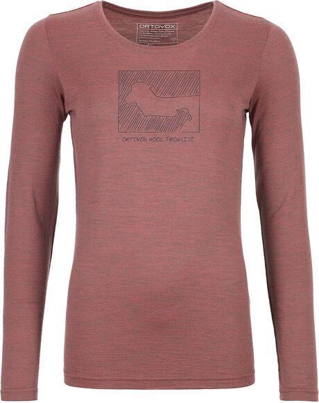 185 Merino Contrast Langarmshirt