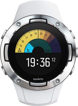 Suunto 5 Multisportuhr mit GPS weiß