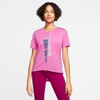 Nike Icon Clash T-Shirt Damen pink