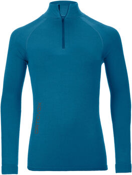 ORTOVOX 230 Competition Zip Neck Funktionsshirt Herren blau