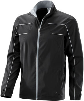 JOY Sportswear Keith Trainingsjacke Herren schwarz