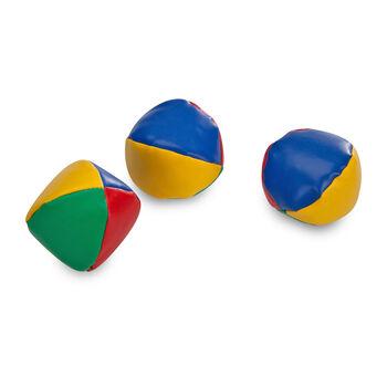 Sunflex 3-er Set Jonglierbälle  weiß