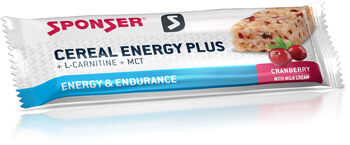 SPONSER Cereal Energy Plus Riegel rot