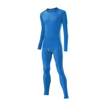 LÖFFLER Unterwäschenset TRANSTEX® WARM Herren blau