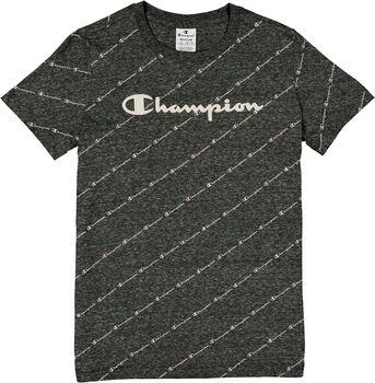 Champion Crewneck T-Shirt Damen grau
