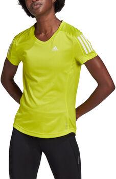 adidas Own The Run T-Shirt Damen gelb