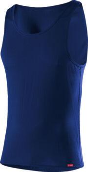 LÖFFLER Unterhemd Herren blau
