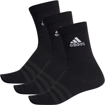 adidas Light Crew 3er Pack Socken Herren schwarz