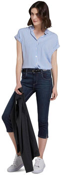 TOM TAILOR Kate Capri Damen blau