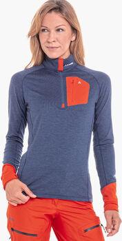 SCHÖFFEL Annapolis Langarmshirt mit Halfzip Damen blau
