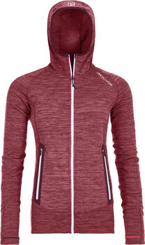 ORTOVOX Fleece Light Fleecejacke Damen rot