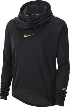 Nike Glam Langarmshirt Damen schwarz