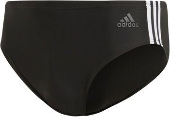 ADIDAS Fitness 3-Streifen Badehose Herren schwarz