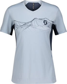 SCOTT Trail Flow Pro T-Shirt Damen blau