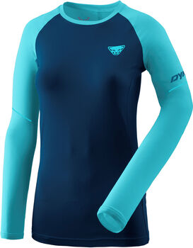 DYNAFIT Alpine Pro Langarmshirt Damen blau