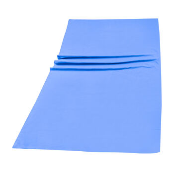 ITS Microfaser Badetuch blau