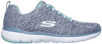 Skechers Flex Appeal 3.0 High Tides Fitnessschuhe Damen blau