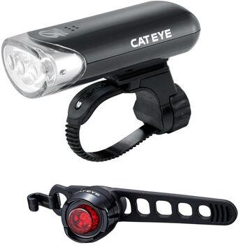 CatEye EL135N/LD160 Licht-Set schwarz