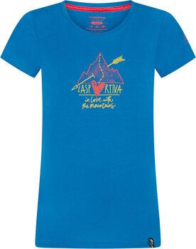 La Sportiva Alakay T-Shirt Damen blau