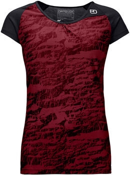 ORTOVOX 120 Tec T-Shirt Damen rot