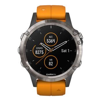 Garmin Fenix 5 Plus Multisport GPS Smartwatch orange