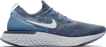 Nike Epic React Flyknit Laufschuhe Damen blau
